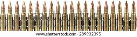 bullet chain - stock photo
