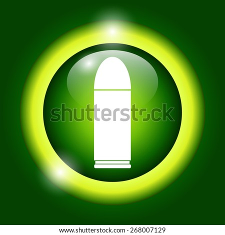 bullet icon - stock photo