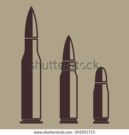 Bullet icon set. Illustration of various bullets.