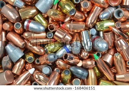 bullet mixture - stock photo