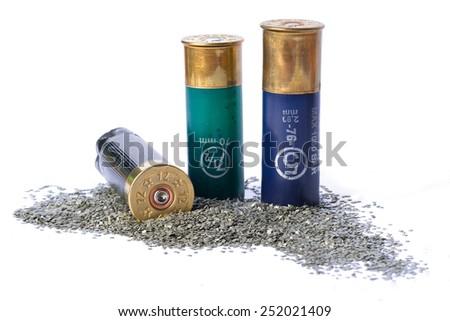 Bullet shells - stock photo