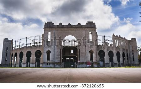 Bullring - Plaza de toros - Colonia del Sacramento - Uruguay - stock photo