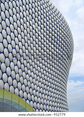 Bullring shopping complex at Birmingham UK