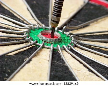 bullseye - stock photo