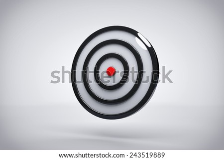 Bullseye Accuracy Background or Wallpaper  - stock photo