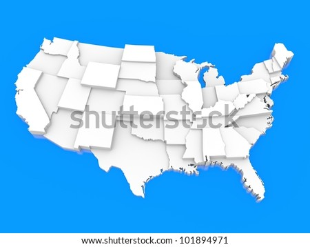 bump map of USA