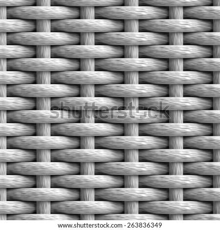 Bump map texture weave mesh black white - stock photo
