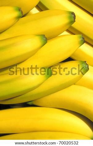 Bunch of bananas - stock photo