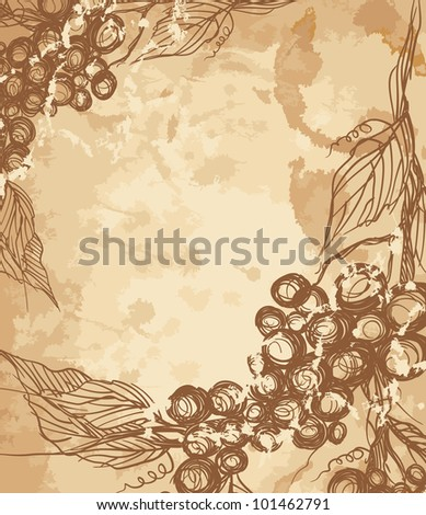 Bunch of grapes. - stock photo