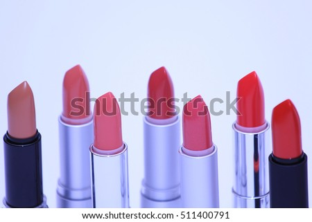 bunch of lipsticks various colors
