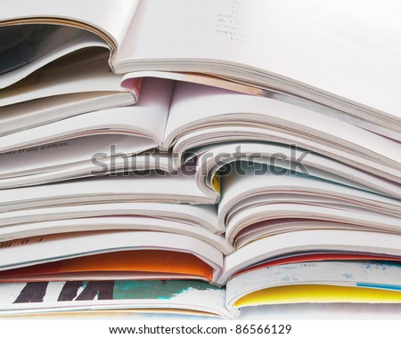 bunch of open books,close up photo