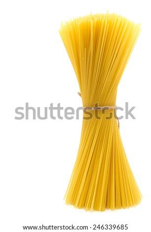 Bunch of spaghetti - stock photo