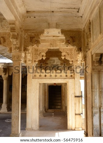 Bundi palace interior decor