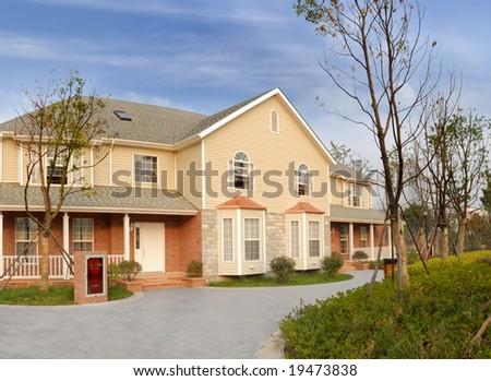 bungalow - stock photo