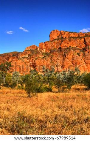 Bungles Bungles National Park, West Australia, Australia - stock photo
