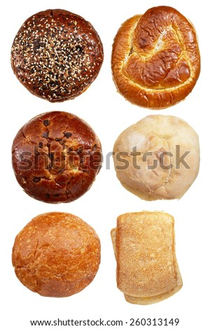 Buns & Bread - stock photo