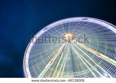 Buntes Riesenrad in Wien - stock photo