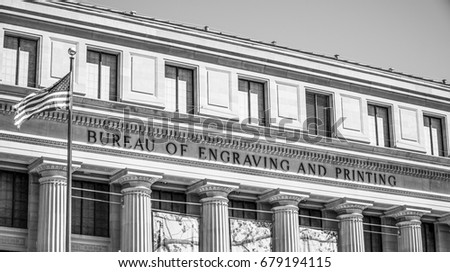 Bureau Of Engraving And Printing Stock Images RoyaltyFree Images