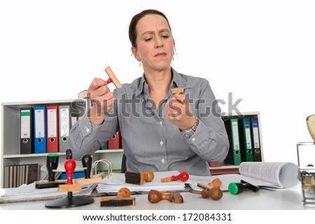 bureaucracy - stock photo