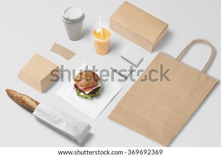 how to set up a burger bar