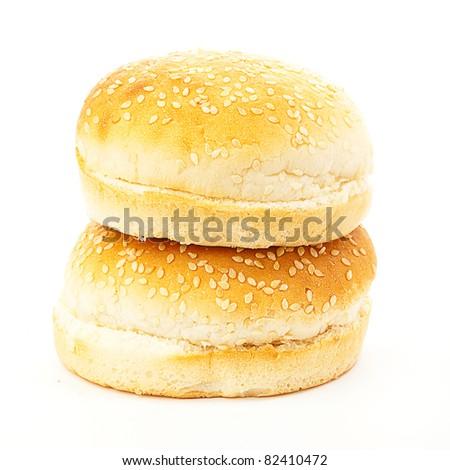 burger bread - stock photo