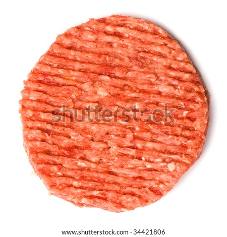 burger isolated - stock photo
