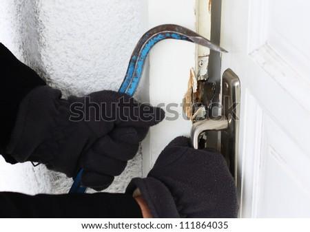 Burglar alarm - stock photo
