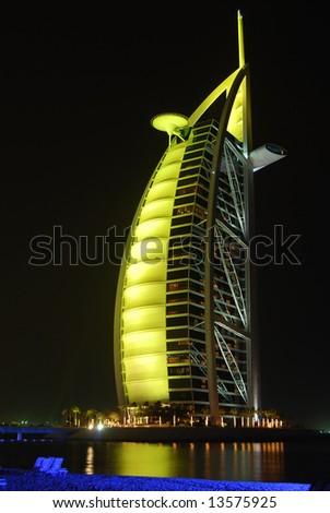 Burj Al Arab, Dubai - stock photo