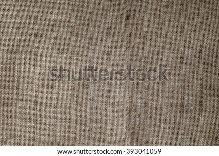Burlap Background. Natural textured canvas