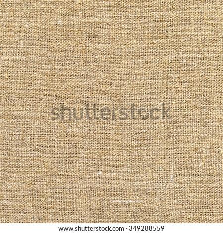 Burlap background. Texture of canvas - stock photo