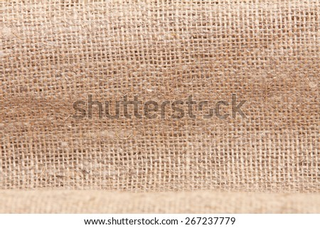 burlap for background