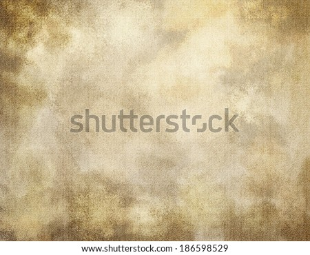 Burlap or old paper grunge texture background, suitable for Western or Steampunk