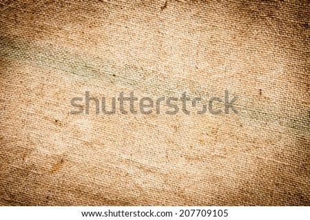 burlap texture, background - stock photo