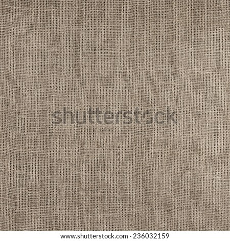 Burlap texture close-up as background. - stock photo