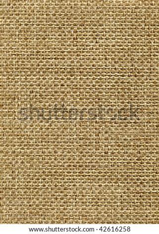 Burlap texture, extra large, close up image, 57.5 MB - stock photo