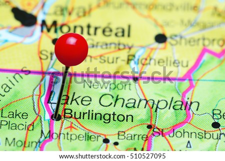 Burlington Vermont Stock Images RoyaltyFree Images Vectors - Vermont in usa map