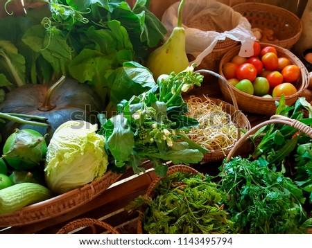 burmese vegetables in bagan