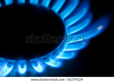 burner - stock photo