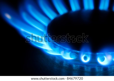 burner - stock photo