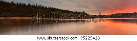 Burrator Panoramic - stock photo
