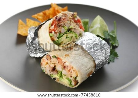 burritos - stock photo