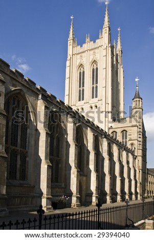 Bury St Edmunds Cathedral, England