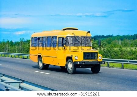 bus - stock photo