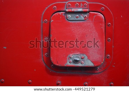 bus fuel tank cover