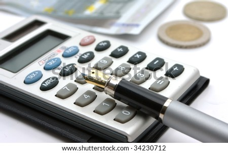 business a still-life - stock photo