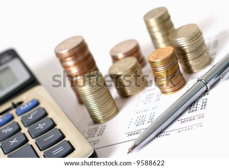 business accessories - stock photo