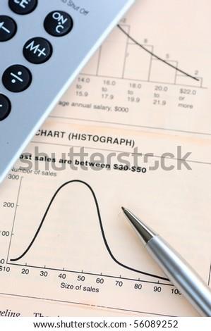 Business analysis - stock photo