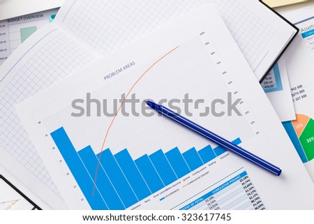 Business analysis, graphics