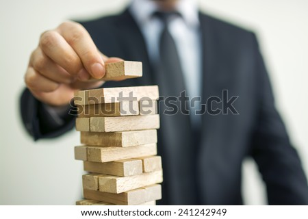 Business and career concept - stock photo