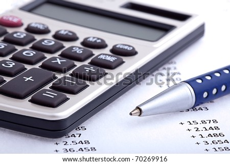 Business and Finance - stock photo